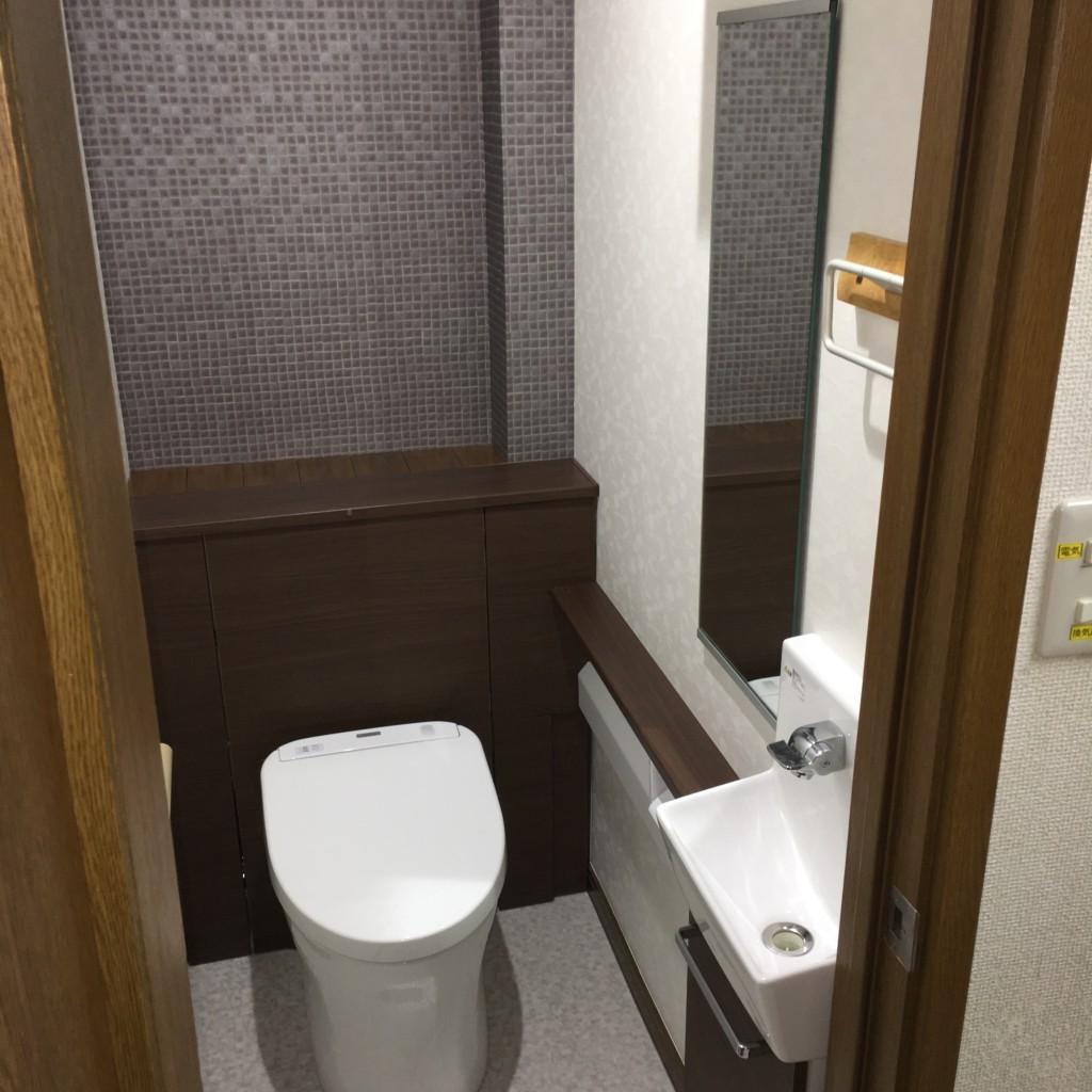 トイレのリフォームです
