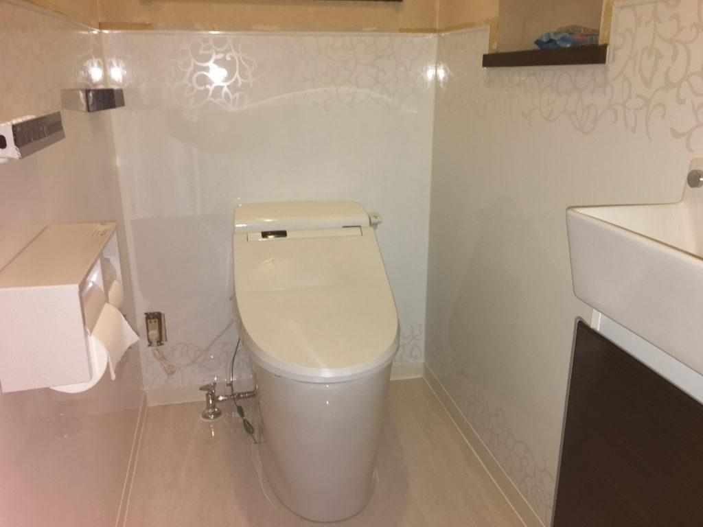 トイレのドレスアップ